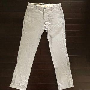 Dockers slim tapered striped pants 33Wx32L